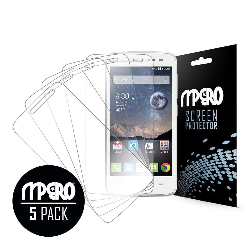 Alcatel OneTouch POP Astro MPERO 5 Pack of Ultra Clear Screen Protectors