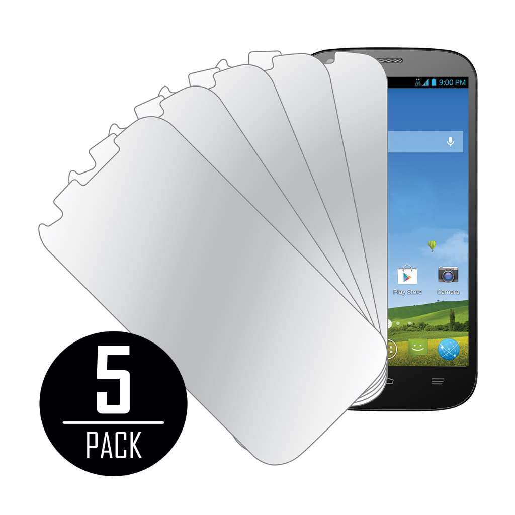 ZTE Grand S Pro MPERO 5 Pack of Mirror Screen Protectors