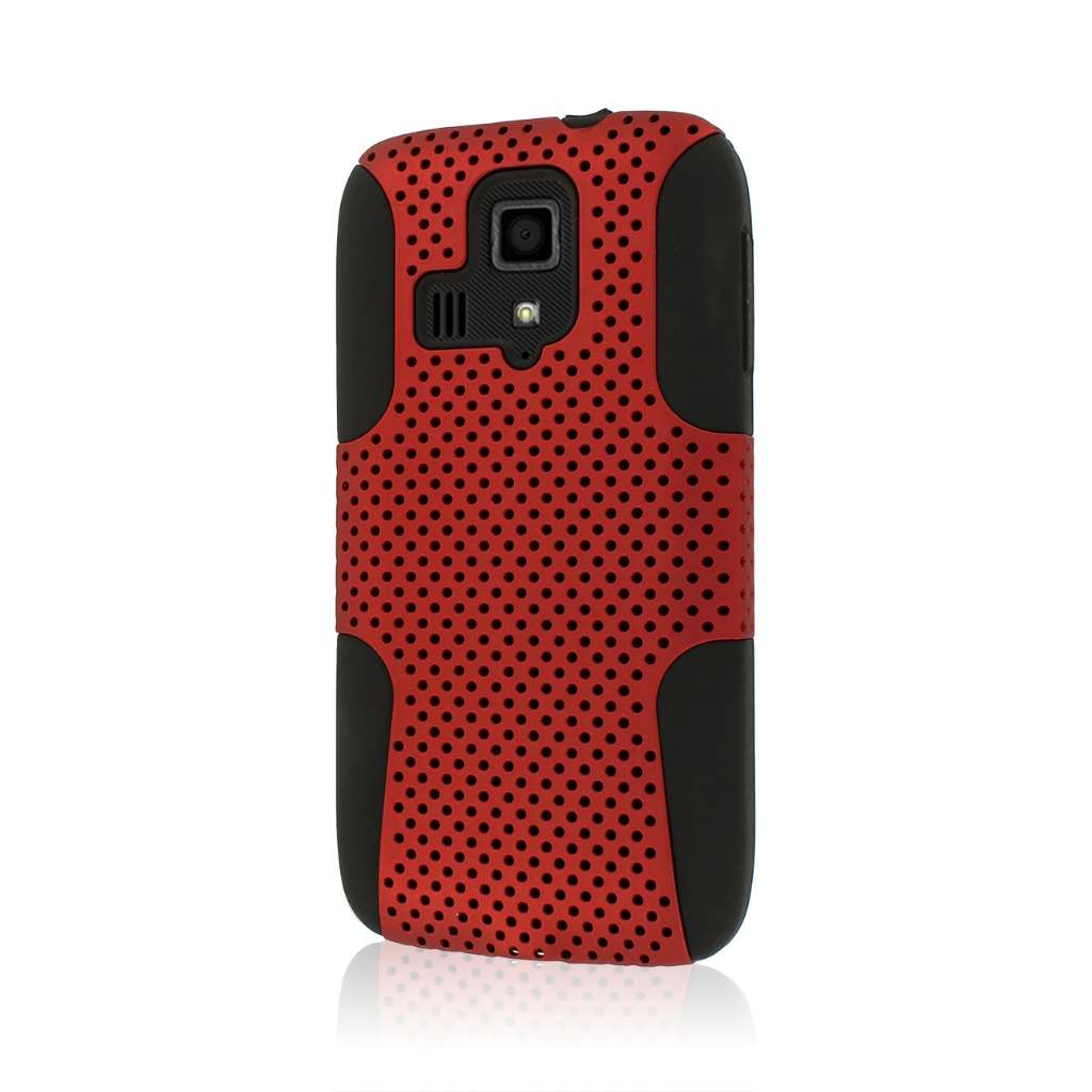 Kyocera Hydro Icon - Red MPERO FUSION M - Protective Case Cover