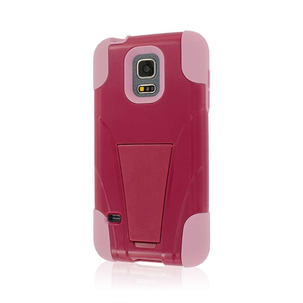 Samsung Galaxy S5 Mini - Hot Pink / Pink MPERO IMPACT X - Kickstand Case