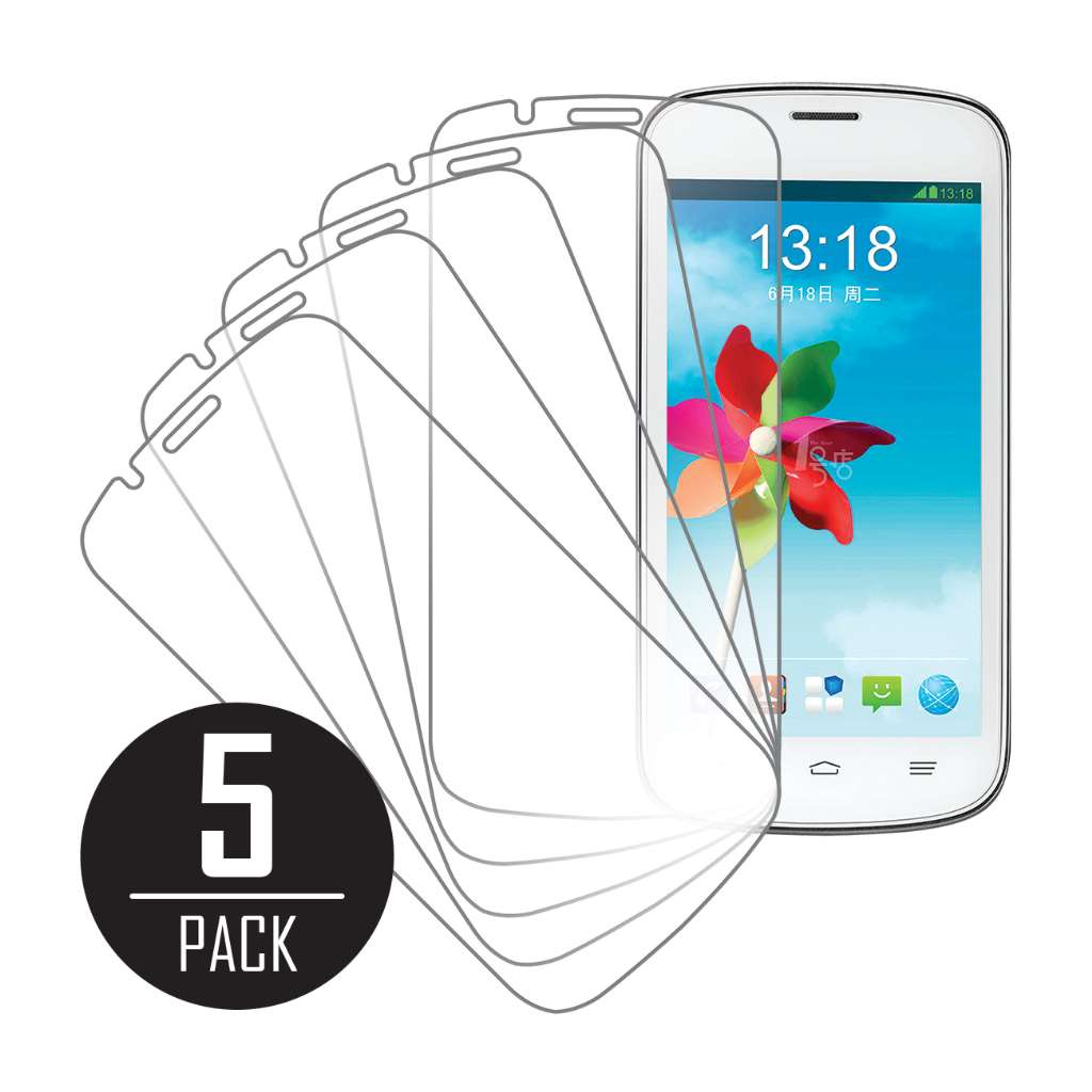 ZTE V818 MPERO 5 Pack of Clear Screen Protectors