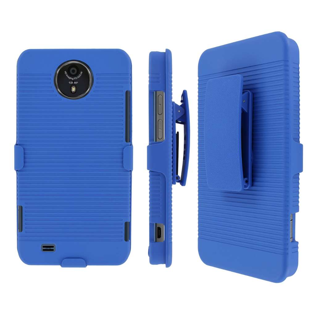 ZTE Vital MPERO 3 in 1 Tough Kickstand Case Cover