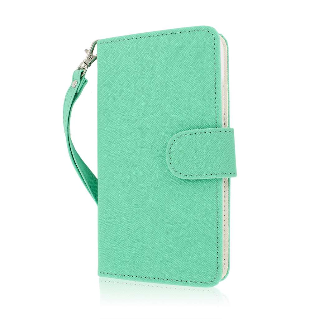 Samsung Galaxy Note 3 N900A N900V N9000 - Mint MPERO FLEX FLIP Wallet Case