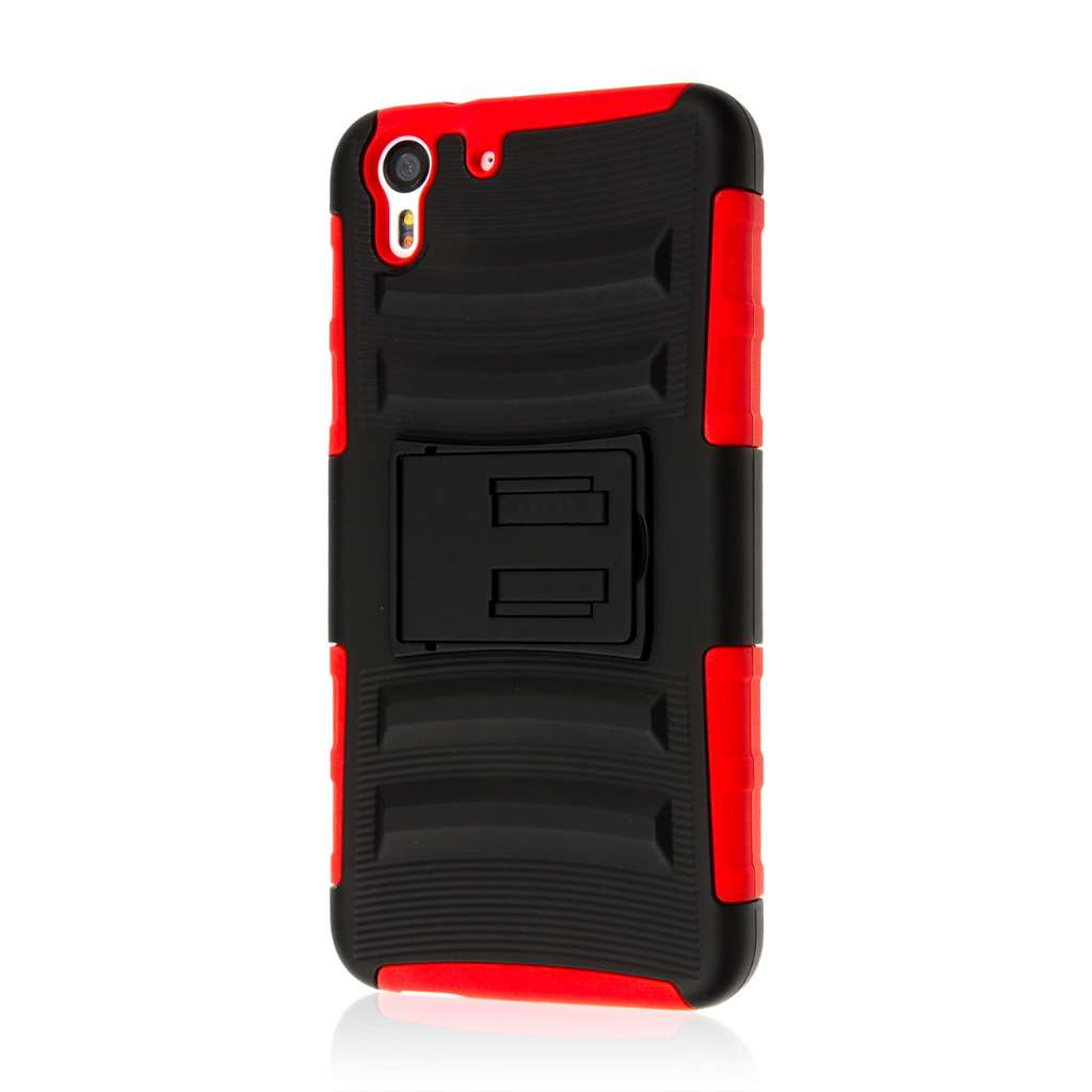 HTC Desire EYE - Red MPERO IMPACT XT - Kickstand Case Cover