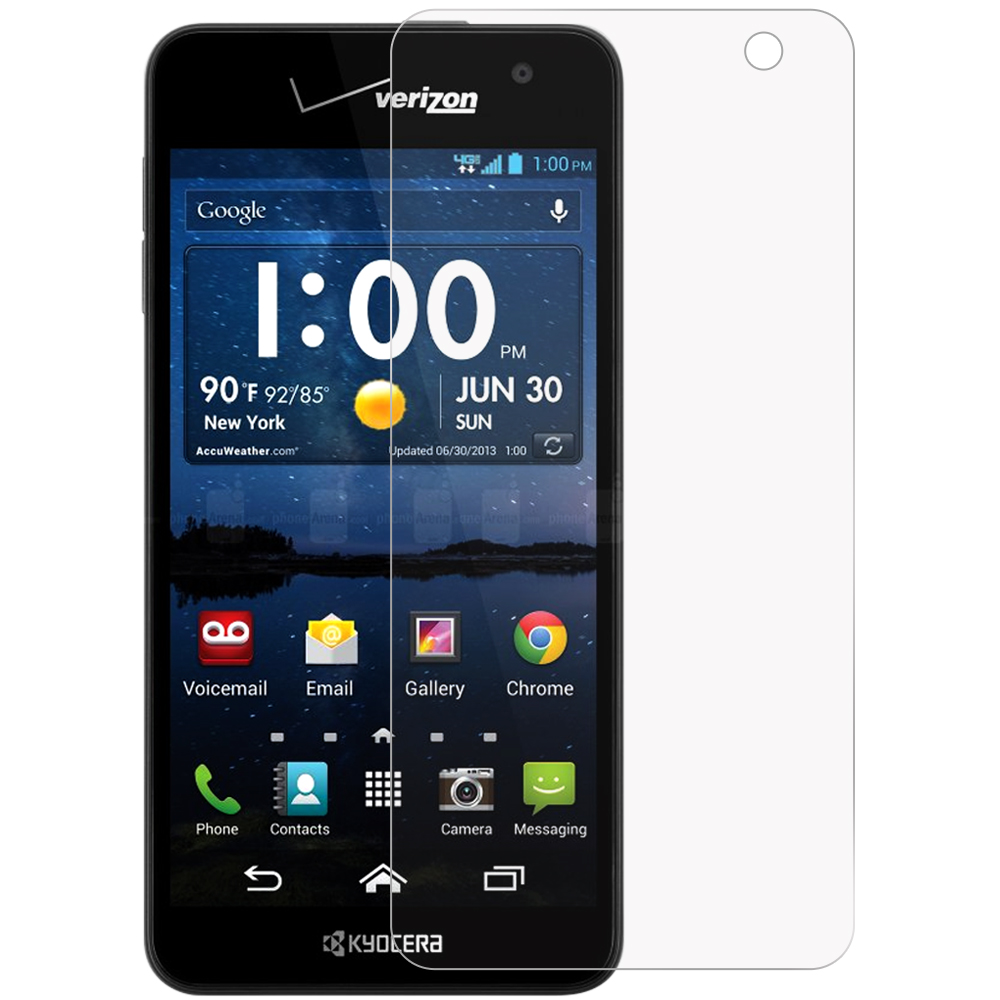 Kyocera Hydro Icon / Hydro Life Anti Glare LCD Screen Protector