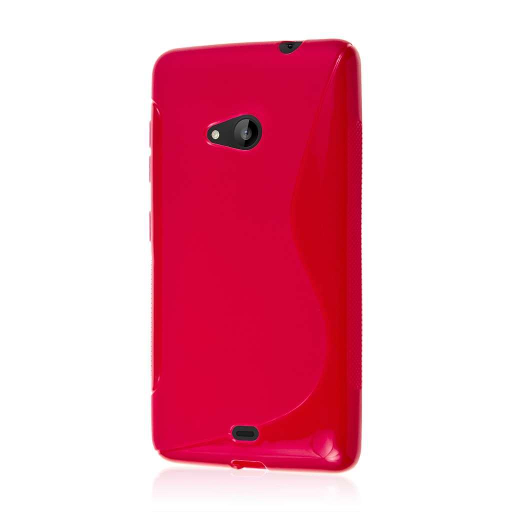 Microsoft Lumia 535 - Hot Pink MPERO FLEX S - Protective Case Cover