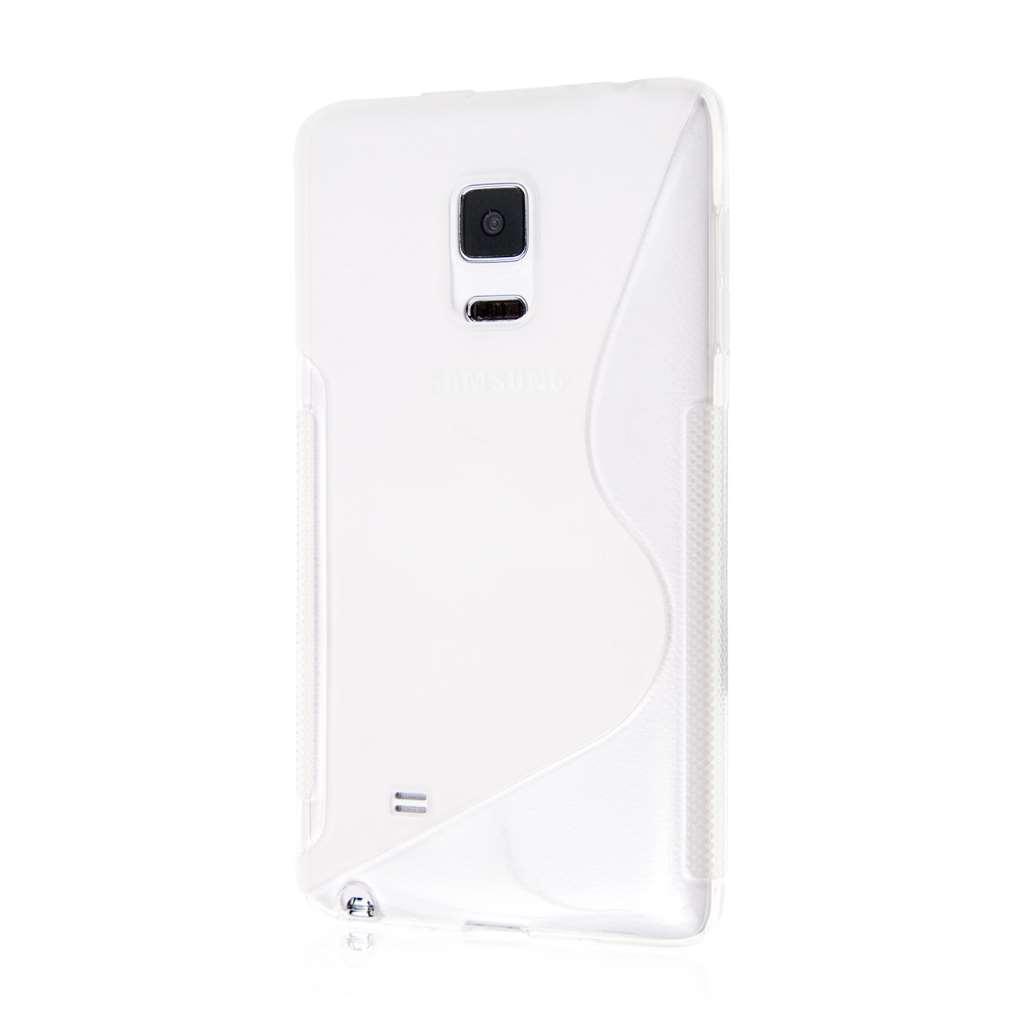 Samsung Galaxy Note Edge - Clear MPERO FLEX S - Protective Case Cover