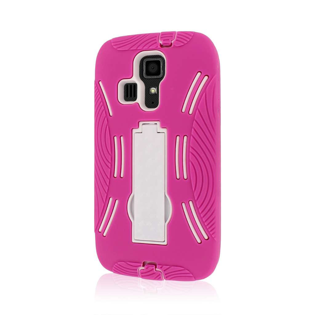 Kyocera Hydro Icon - Hot Pink MPERO IMPACT XL - Kickstand Case Cover