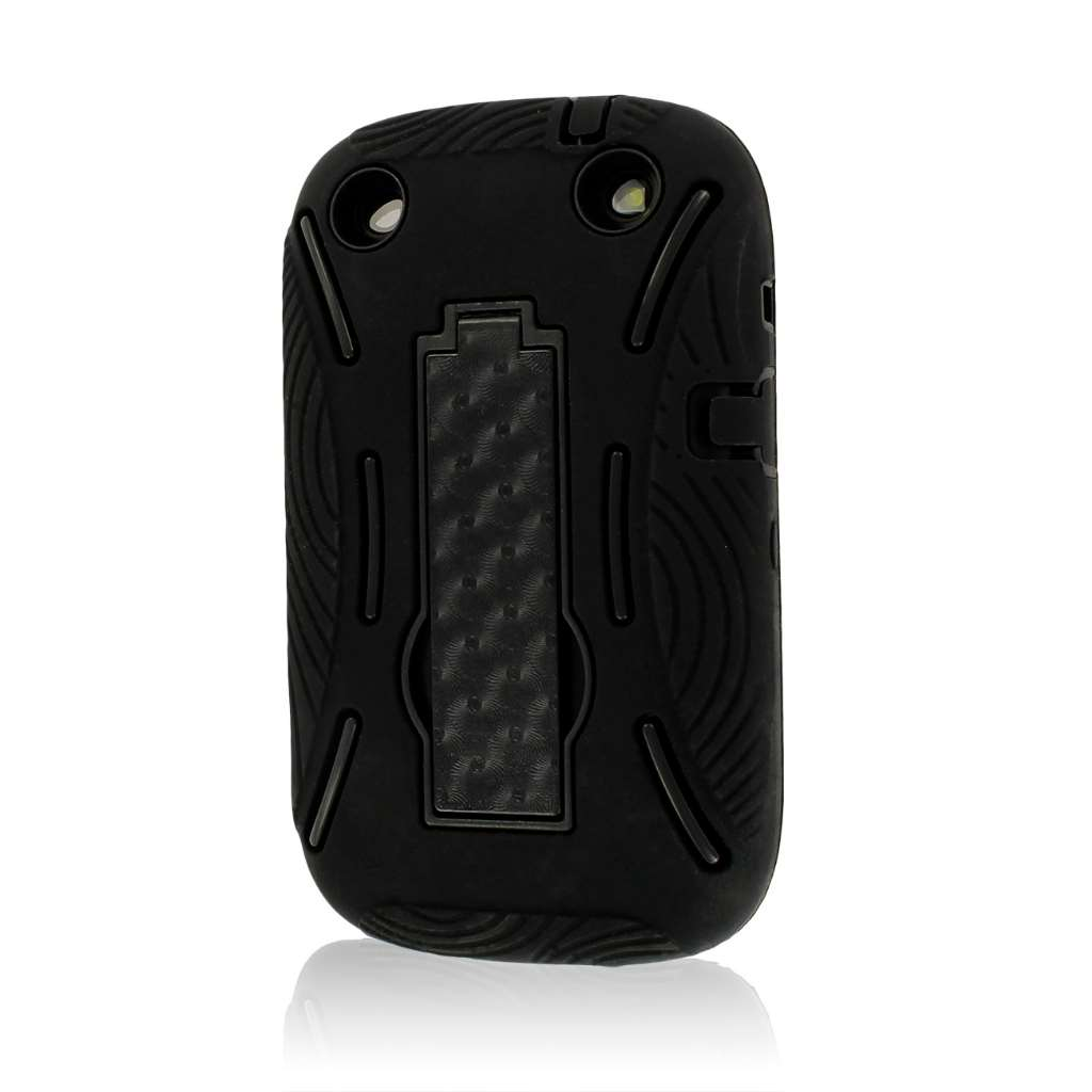 BlackBerry Curve 9310 9320 - Black MPERO IMPACT XL - Kickstand Case Cover