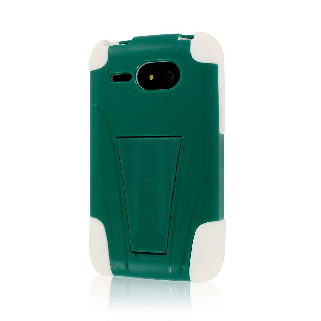 Kyocera Event C5133 - Teal Green MPERO IMPACT X - Kickstand Case Cover