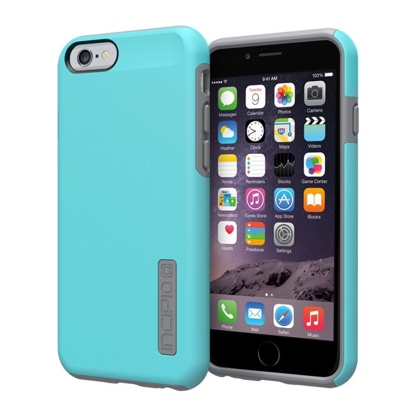 iPhone 6/6S - Light Blue/Gray Incipio DualPro Case Cover