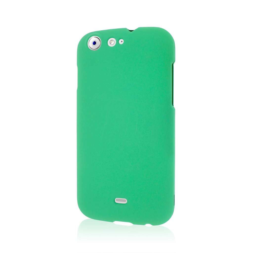 BLU Life One - Mint Green MPERO SNAPZ - Rubberized Case Cover