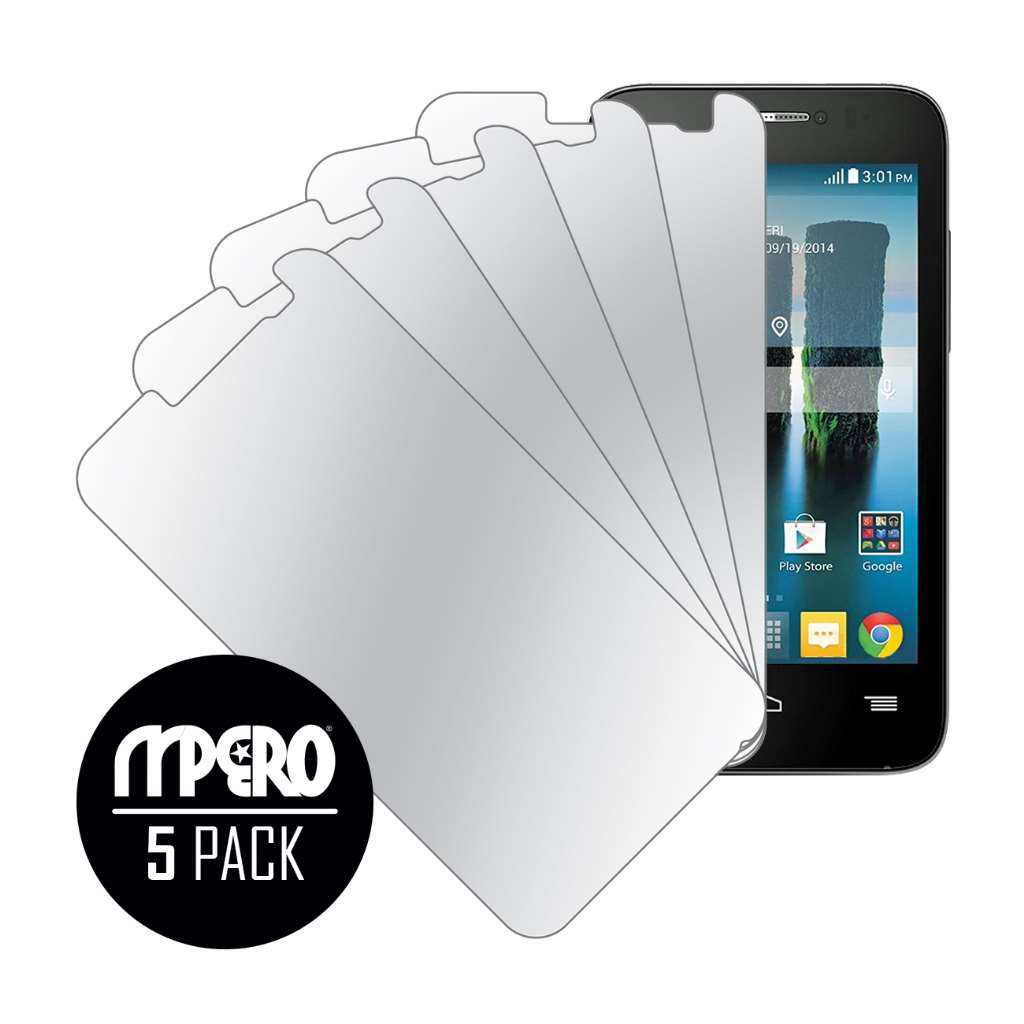Alcatel OneTouch Evolve 2 MPERO 5 Pack of Mirror Screen Protectors