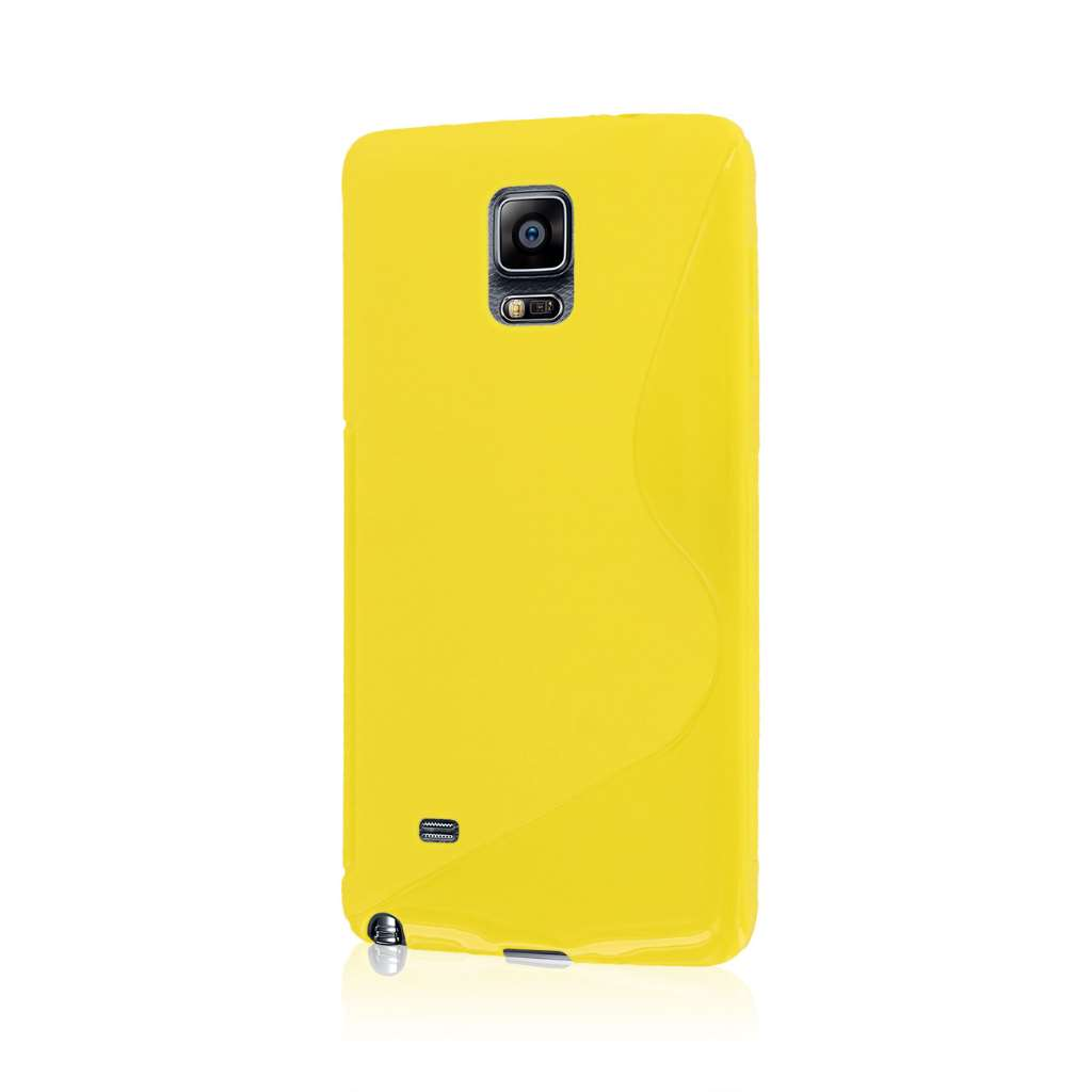 Samsung Galaxy Note 4 - Yellow MPERO FLEX S - Protective Case Cover