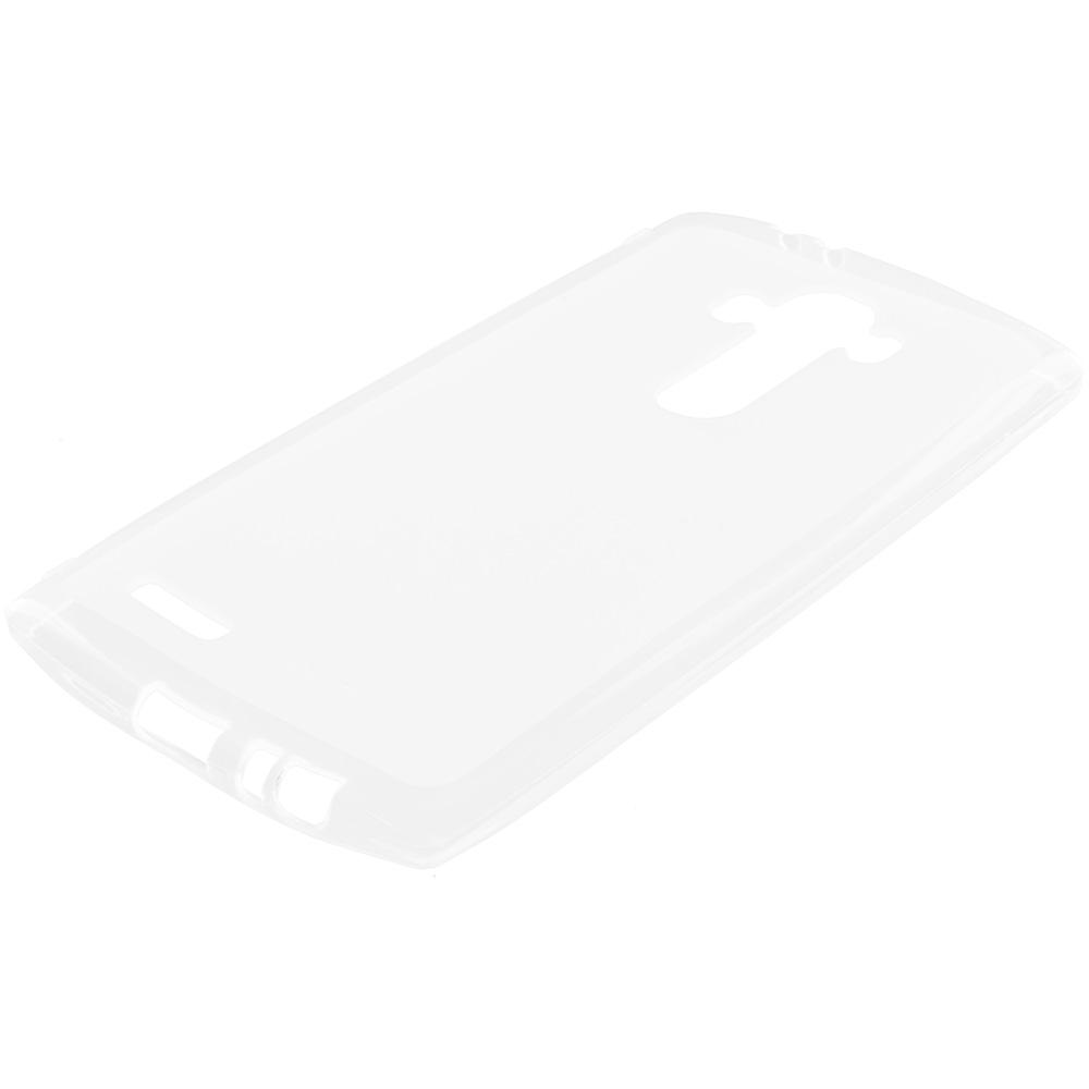 LG G4 Clear TPU Rubber Skin Case Cover