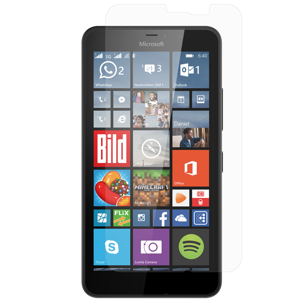 Microsoft Lumia 640 XL Clear LCD Screen Protector
