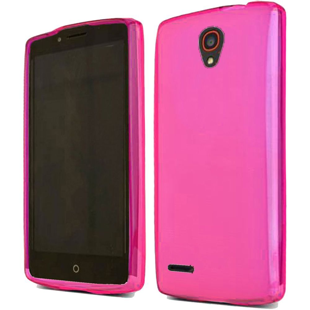 For alcatel one touch conquest t tpu rubber flexible