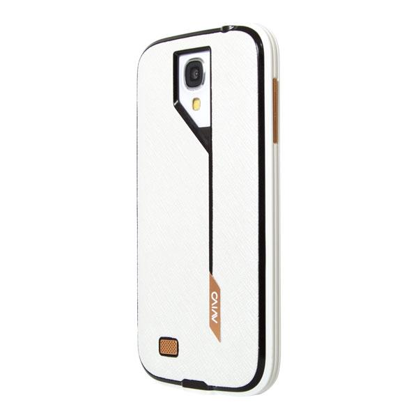 Samsung Galaxy S4 Avivo White Hatch Jacket and Frame Case