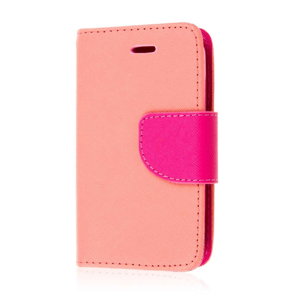 ZTE Prelude 2 - Pink MPERO FLEX FLIP 2 Wallet Stand Case Cover