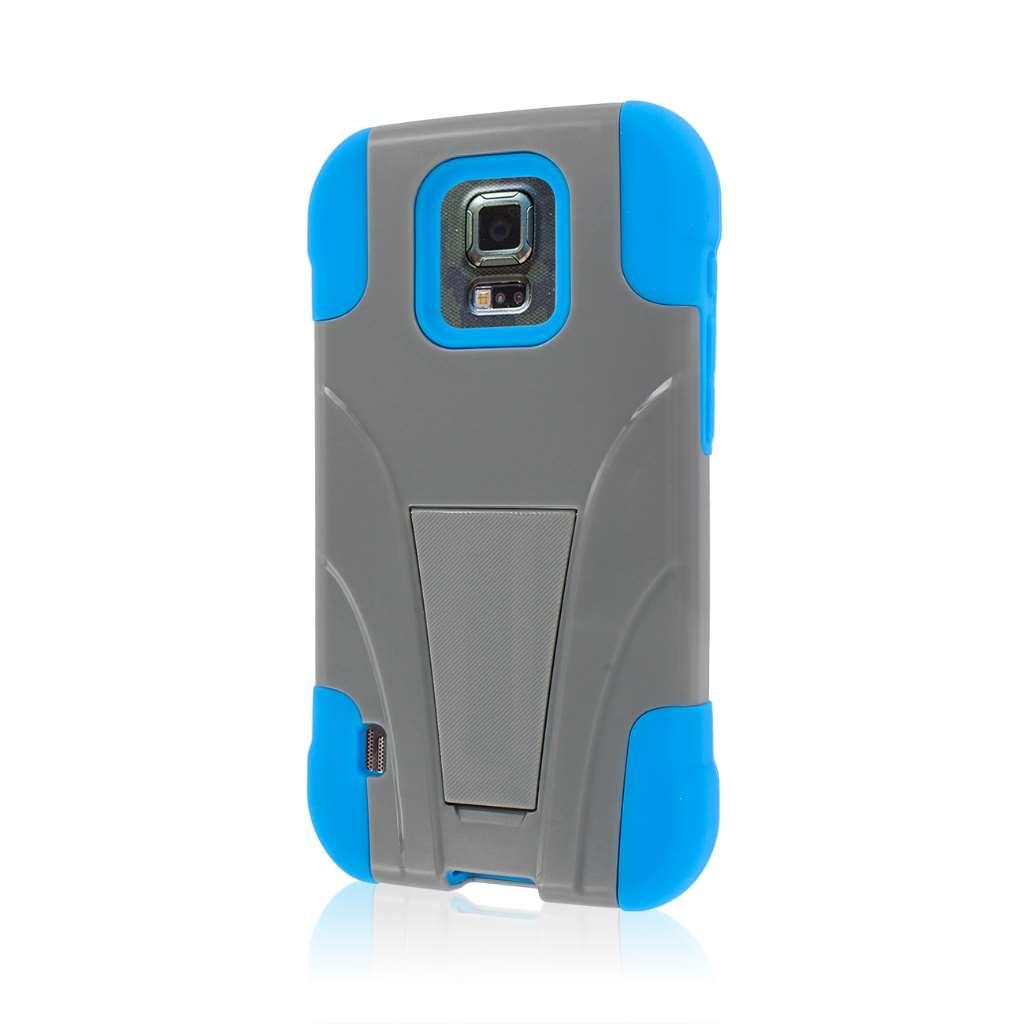 Samsung ATIV SE - Blue / Gray MPERO IMPACT X - Kickstand Case Cover