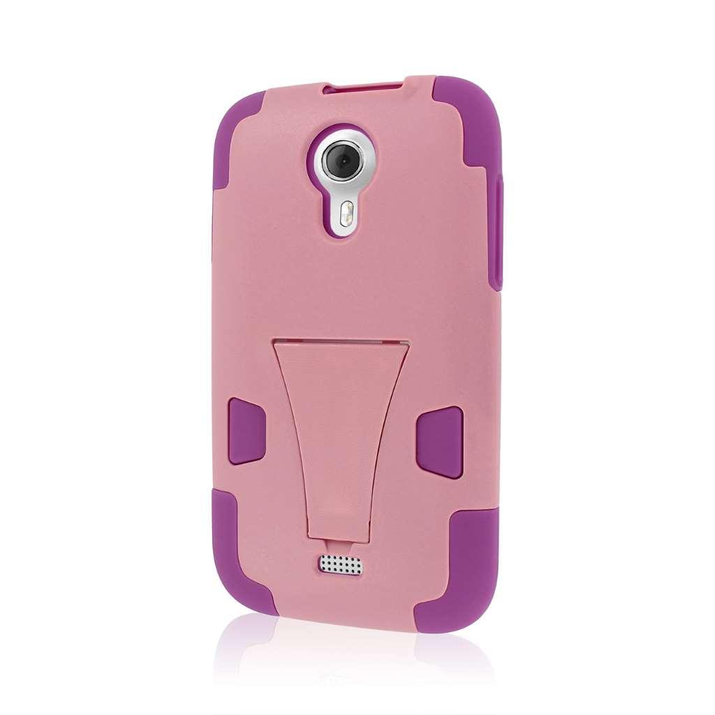 BLU Studio 5.0 - Pink MPERO IMPACT X - Kickstand Case Cover