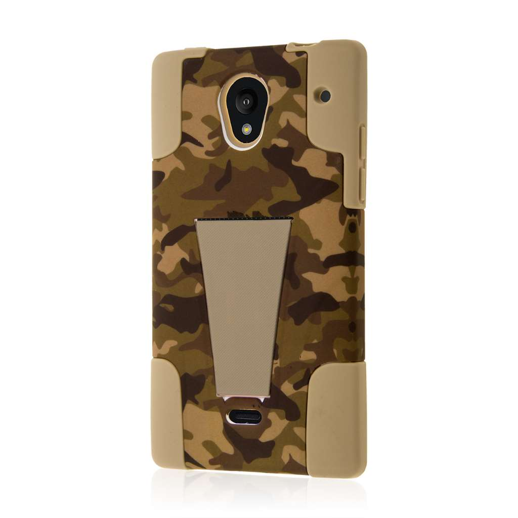Sharp AQUOS Crystal - Hunter Camo MPERO IMPACT X - Kickstand Case Cover