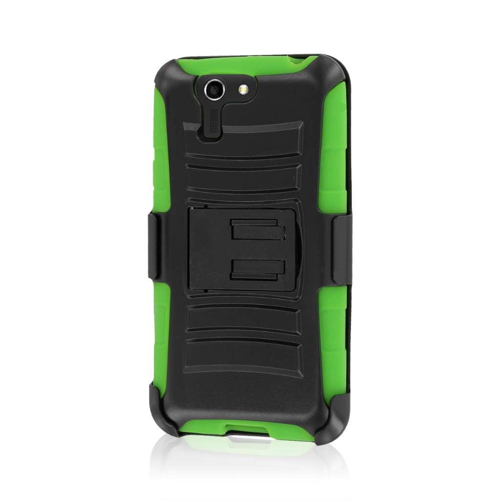 ASUS PadFone X - Neon Green MPERO IMPACT XT - Kickstand Case Cover
