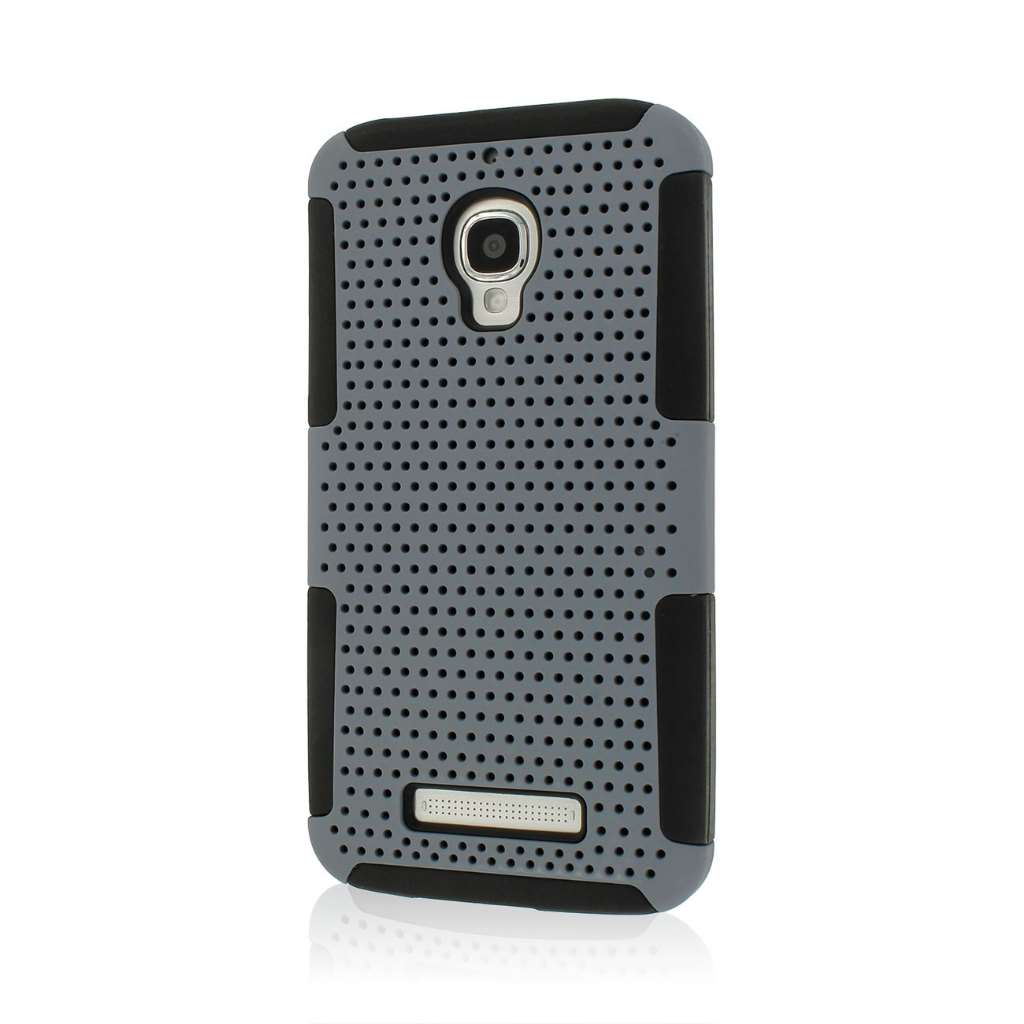 Alcatel OneTouch Fierce - Gray MPERO FUSION M - Protective Case Cover