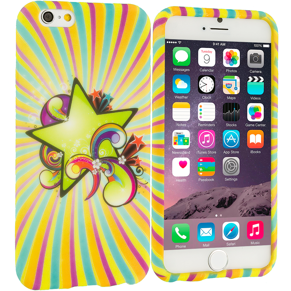 Apple iPhone 6 Plus 6S Plus (5.5) SuperStar TPU Design Soft Rubber Case Cover