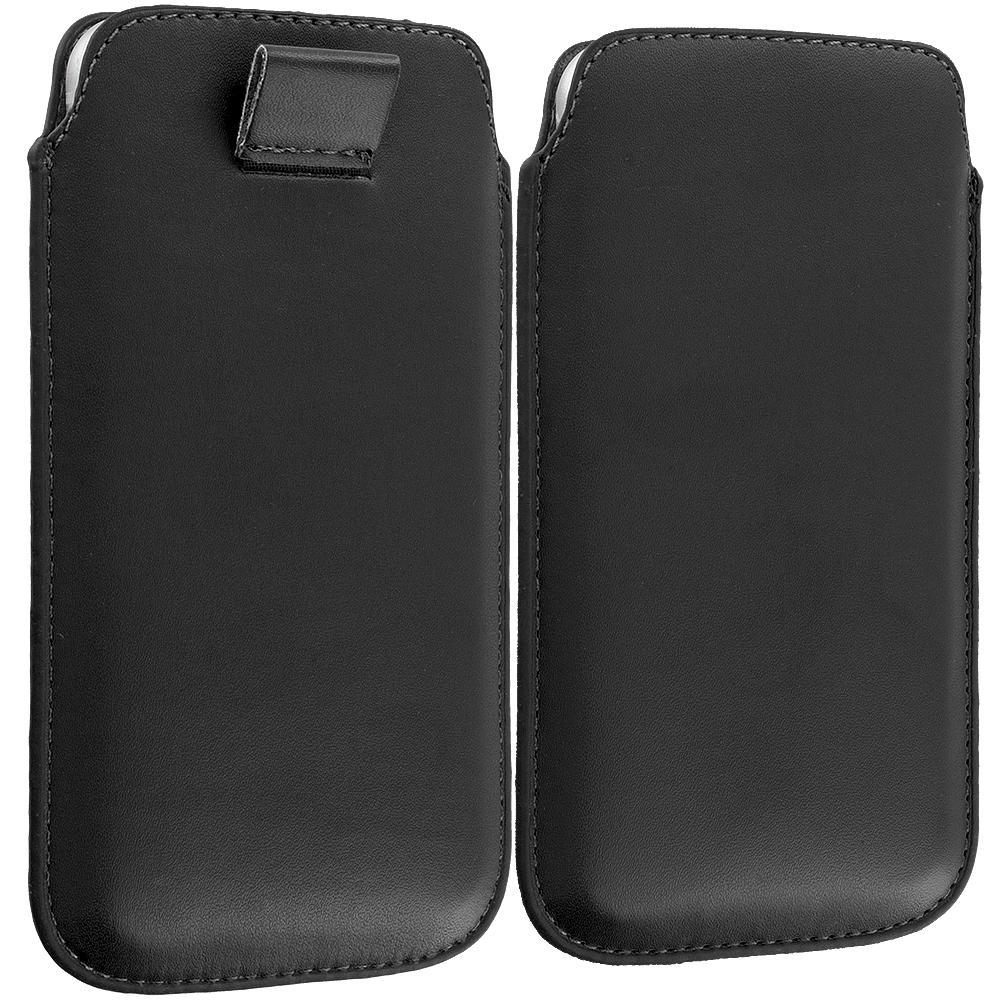 Apple iPhone 6 Plus 6S Plus (5.5) Black Sleeve Pouch Case Holder