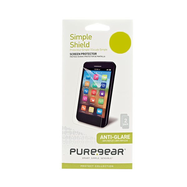 iHone 5/5S/5C - Anti-Glare PureGear Simple Shield Screen Protector