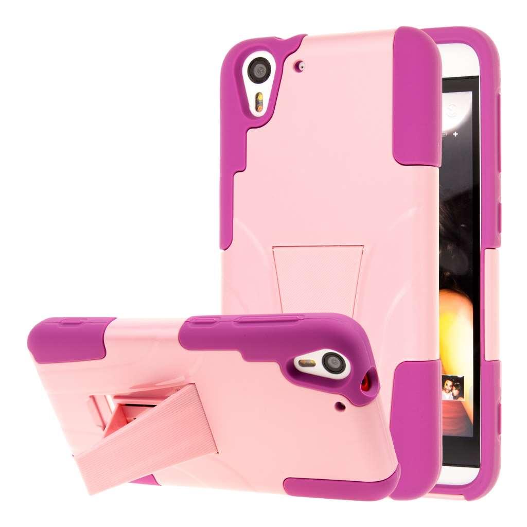 HTC Desire EYE - Pink MPERO IMPACT X - Kickstand Case Cover