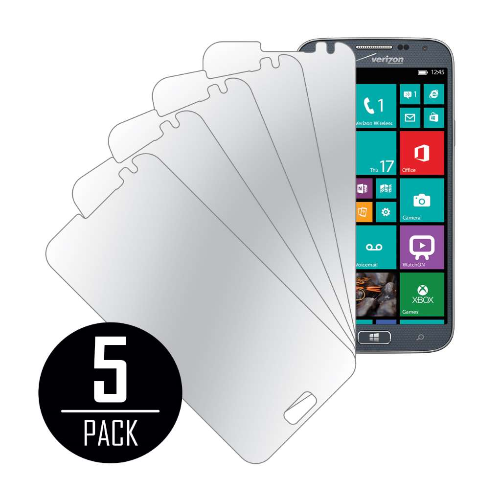 Samsung ATIV SE MPERO 5 Pack of Mirror Screen Protectors