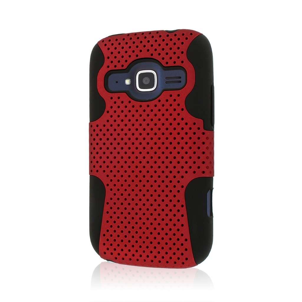 ZTE Concord 2 - Red MPERO FUSION M - Protective Case Cover