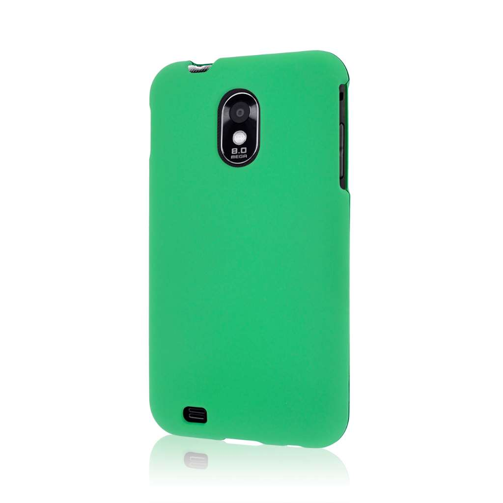 Samsung Epic 4G Touch - Mint Green MPERO SNAPZ - Rubberized Case Cover
