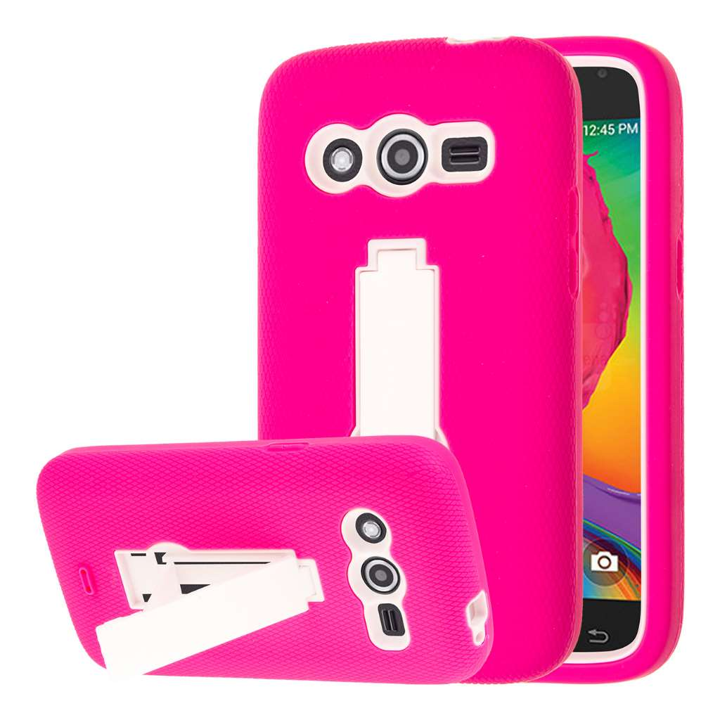 Samsung Galaxy Avant - Pink MPERO IMPACT XS - Kickstand Case Cover