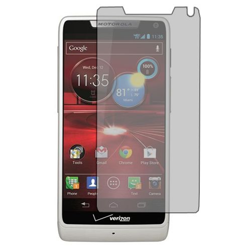 Motorola Droid Razr M XT907 / Luge Anti Glare LCD Screen Protector