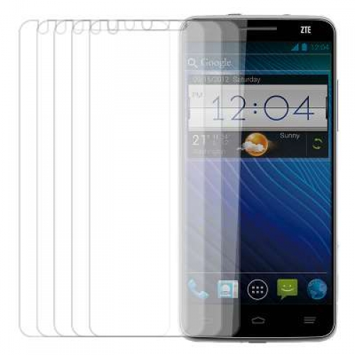 ZTE Grand S MPERO 5 Pack of Clear Screen Protectors