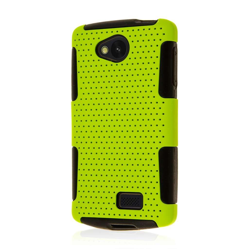 LG F60 - Neon Green MPERO FUSION M - Protective Case Cover