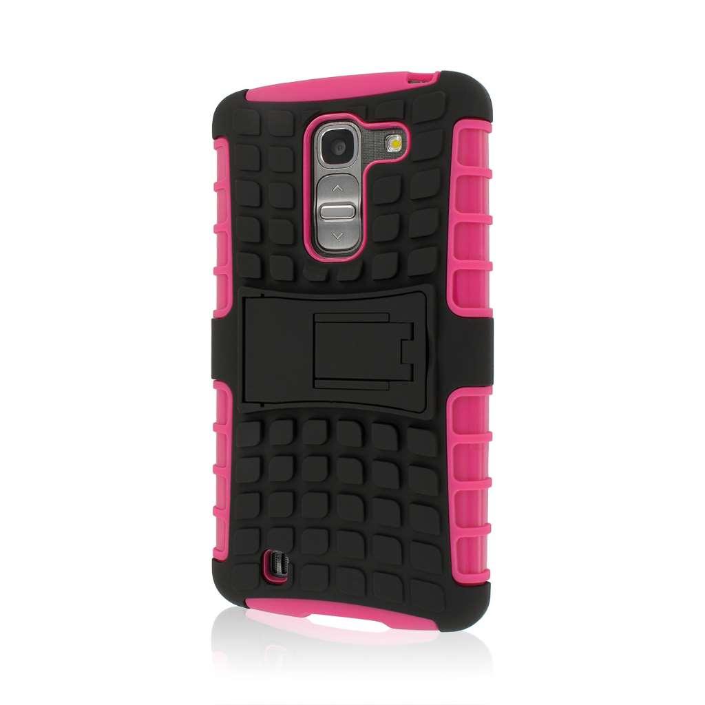 LG G Pro 2 - Hot Pink MPERO IMPACT SR - Kickstand Case Cover