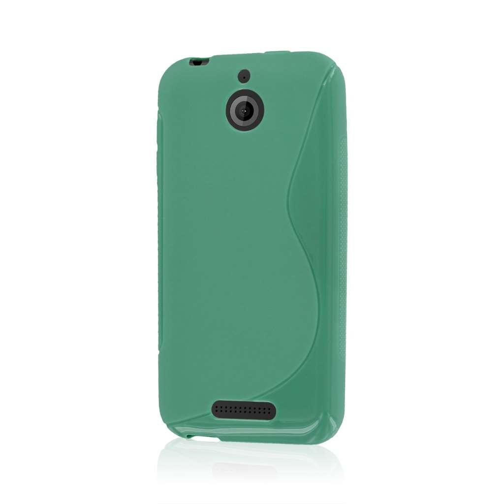 HTC Desire 510 512 - Mint Green MPERO FLEX S - Protective Case Cover