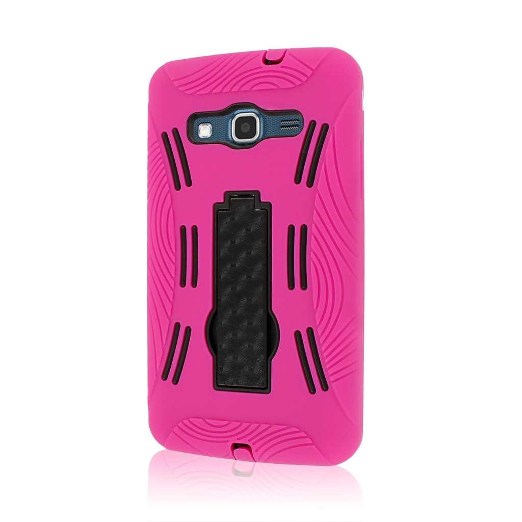 Samsung ATIV S Neo I800 I8675 - Hot Pink MPERO IMPACT XL - Kickstand Case