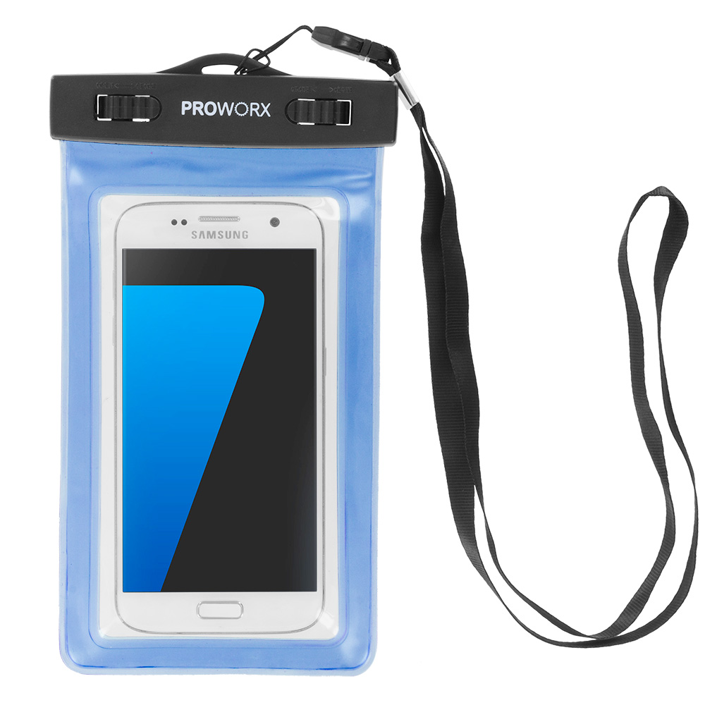 waterproof case pouch smartphone dry bag with strap for up to 6 inch phones ebay. Black Bedroom Furniture Sets. Home Design Ideas