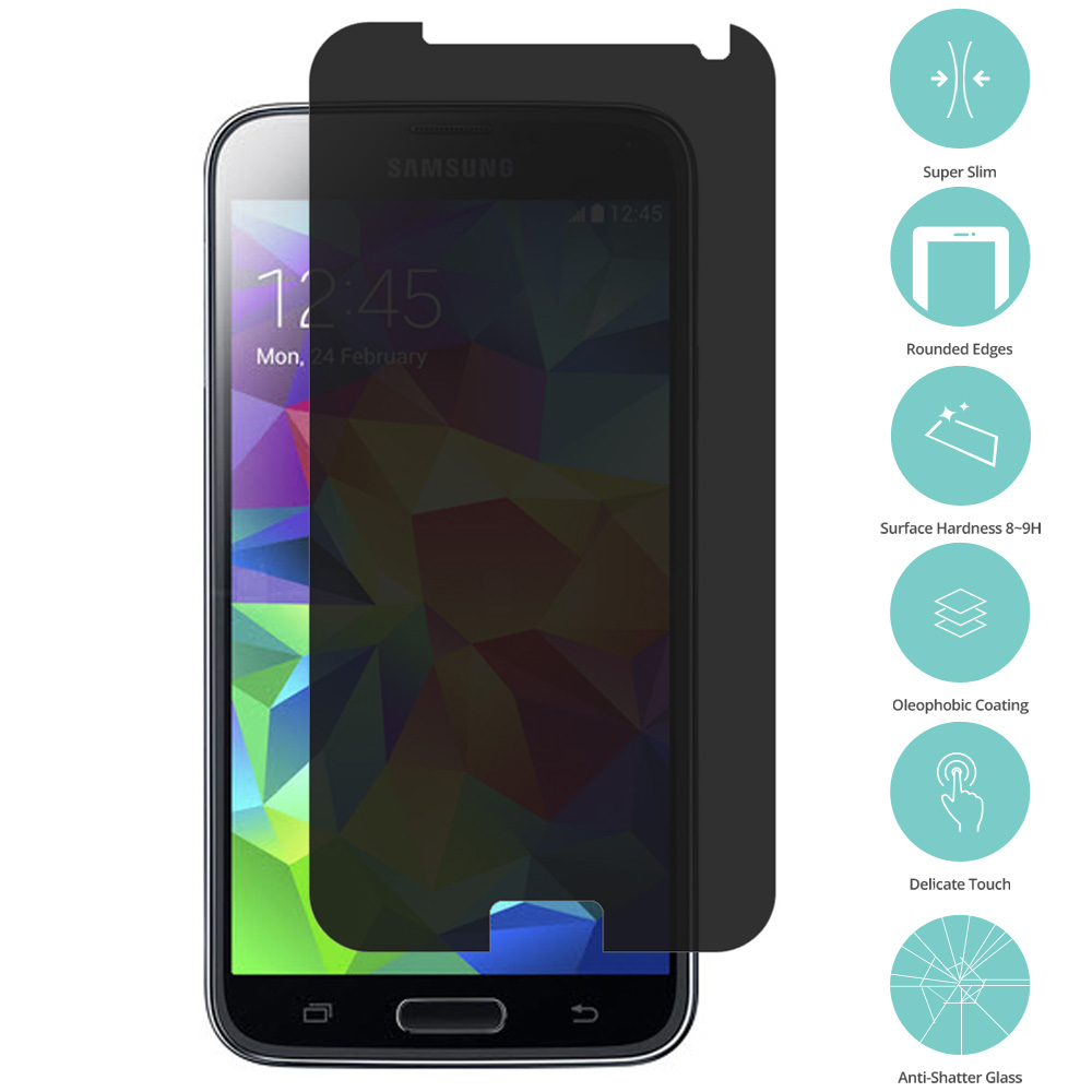 Samsung Galaxy S6 Privacy Tempered Glass Film Screen Protector