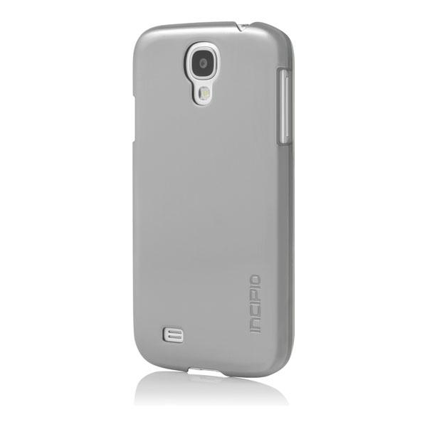 Samsung Galaxy S4 - Titanium Silver Incipio Feather Shine Case Cover