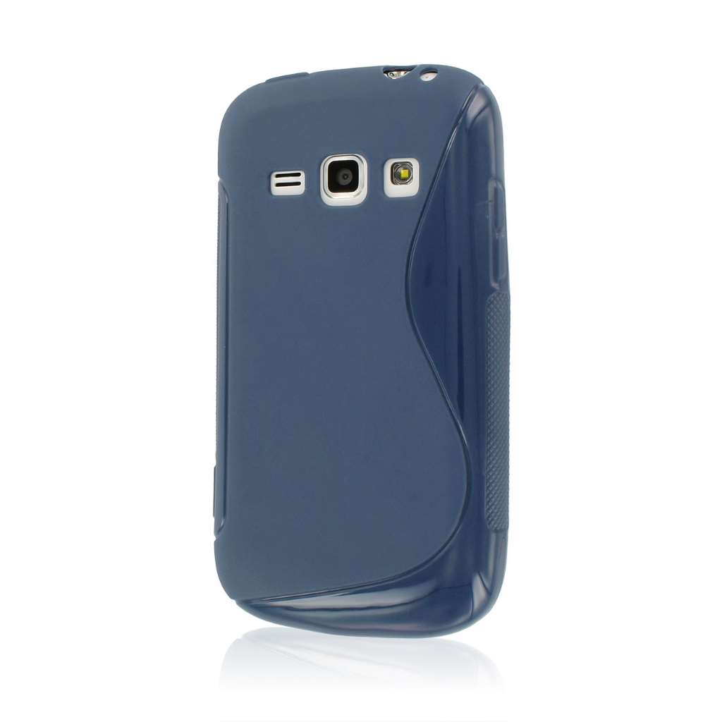 Samsung Galaxy Prevail 2 - Navy Blue MPERO FLEX S - Protective Case Cover