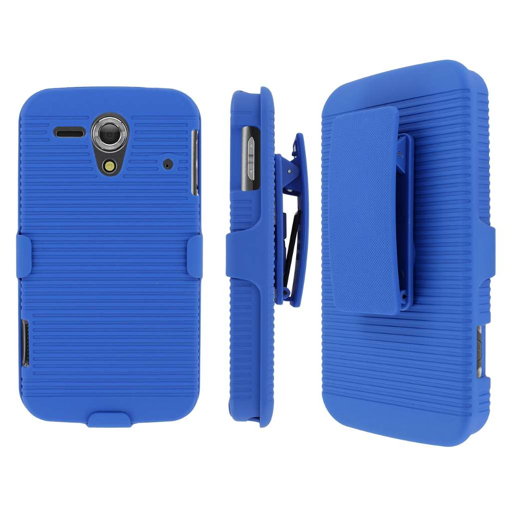 Kyocera Hydro Edge MPERO 3 in 1 Tough Kickstand Case Cover