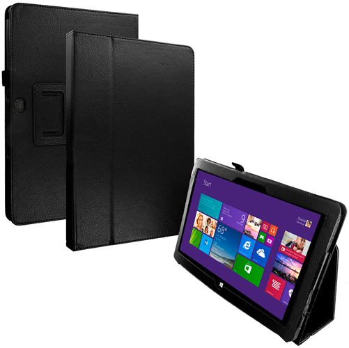 Microsoft Surface Black Folio Pouch Case Cover Stand