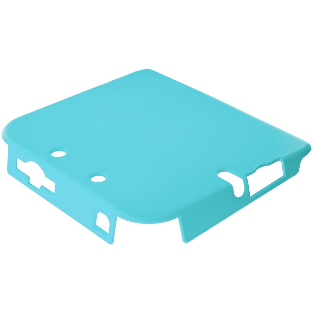 Nintendo 2DS Baby Blue Hard Rubberized Case Cover
