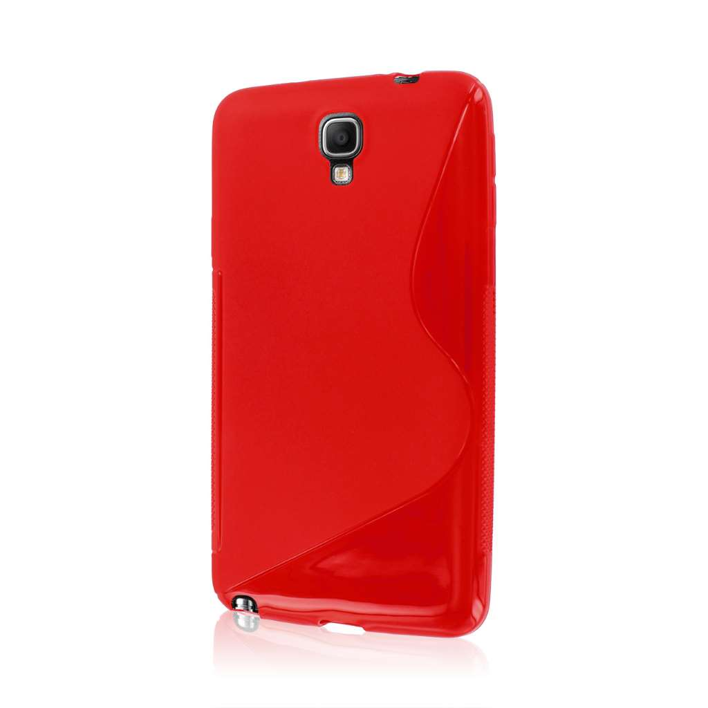 Samsung Galaxy Note 3 Neo - Red MPERO FLEX S - Protective Case Cover